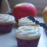 Apple Pie Cupcakes with Browned Butter Cream Cheese Frosting