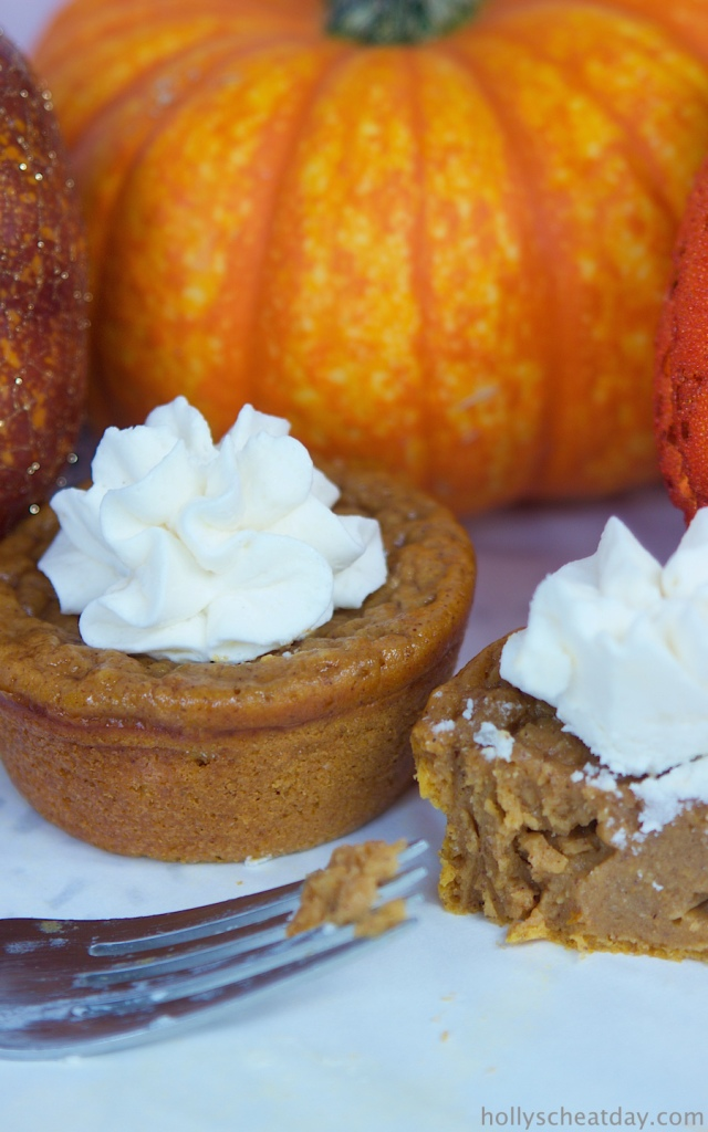 Impossible Pumpkin Pie Cupcakes Holly S Cheat Day