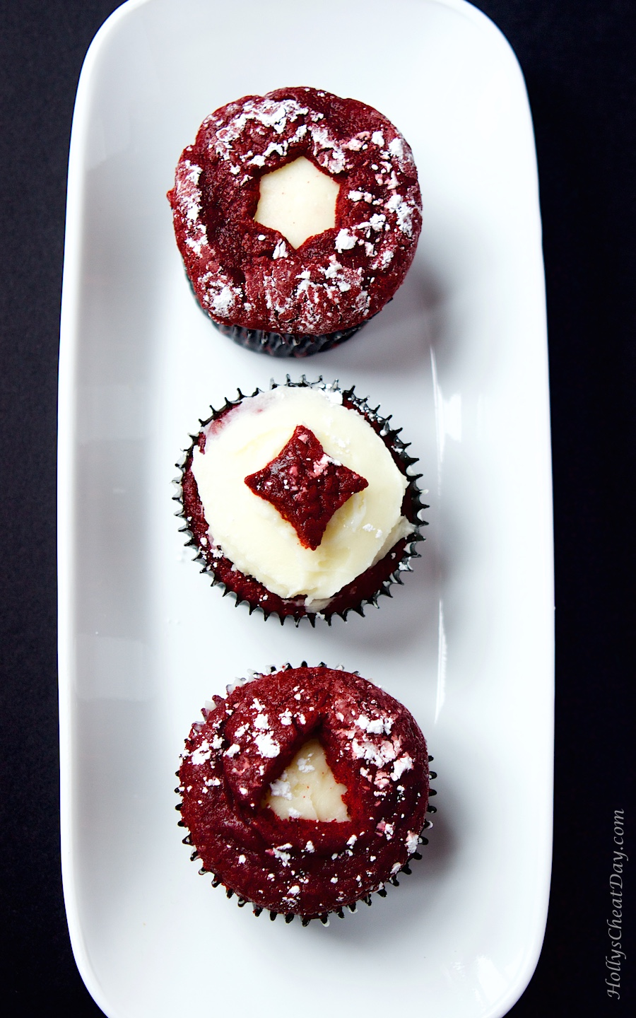 Easy Red Velvet Cupcakes W Cream Cheese Frosting Holly