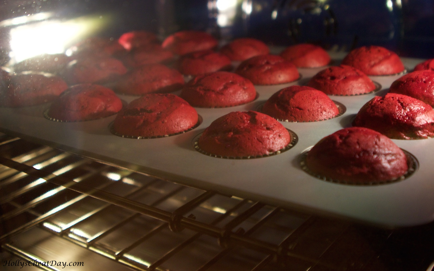 moist red velvet cupcakes from scratch