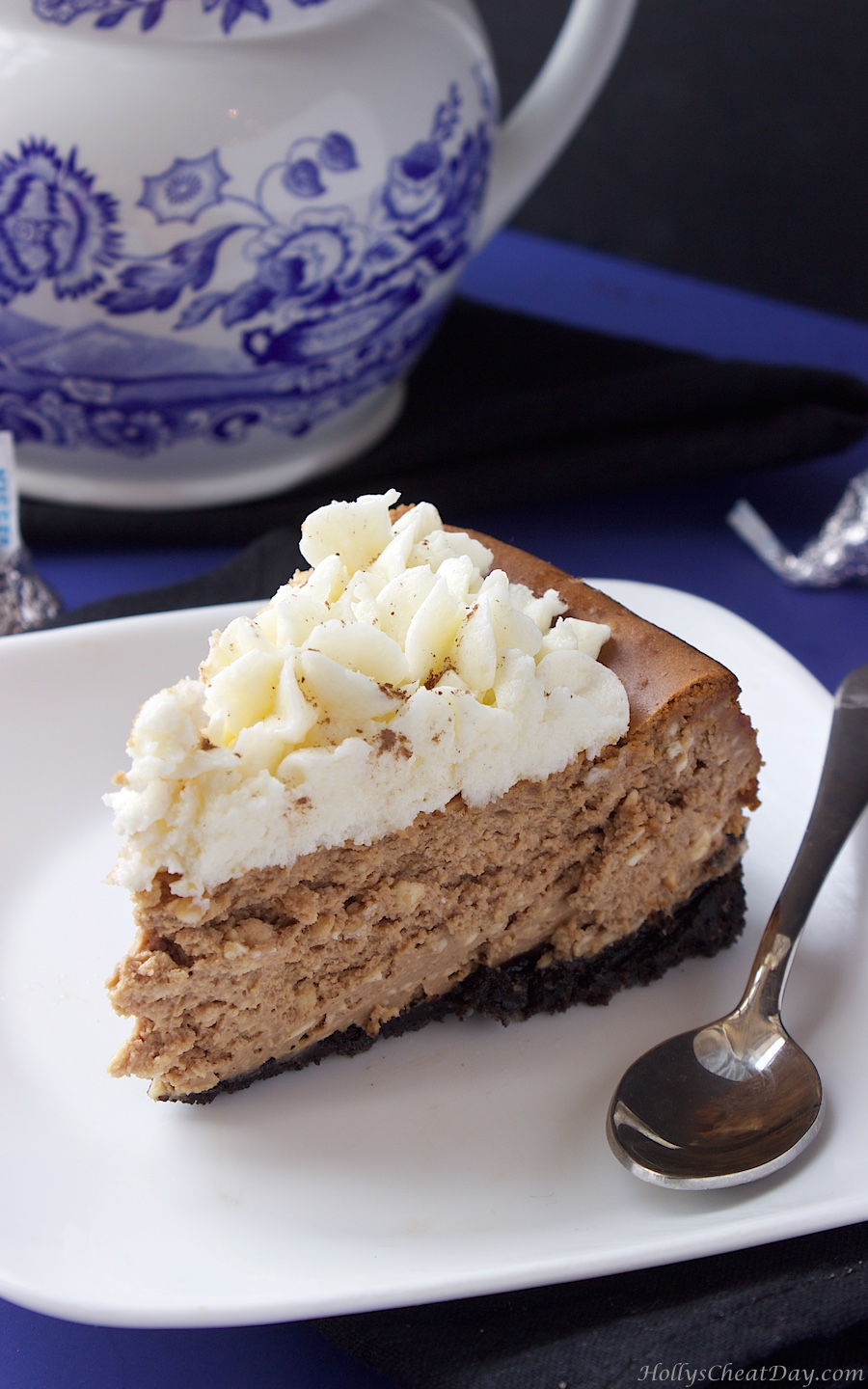 Espresso Chocolate Cheesecake - HOLLY'S CHEAT DAY