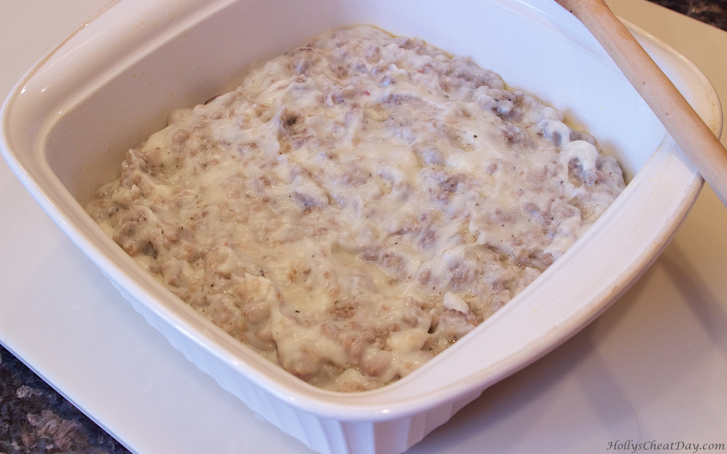 how to make sausage and gravy
