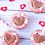 Sweetheart Strawberry Cupcakes