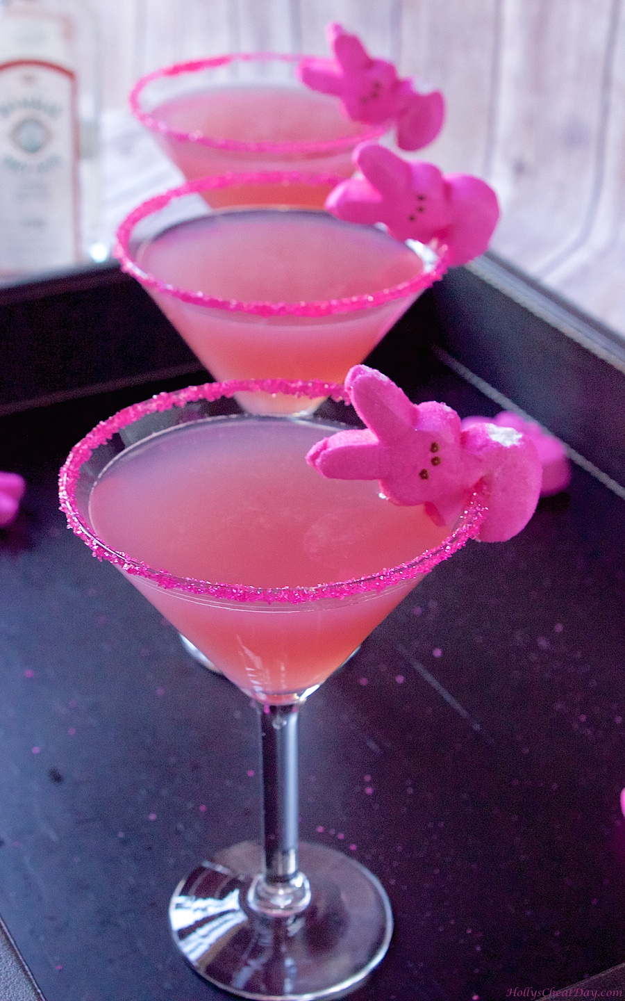 Pink Lady Vodka Drink