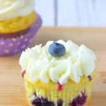 Easy Blueberry Cupcakes