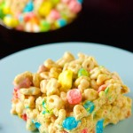 Lucky Charm Krispy Treats