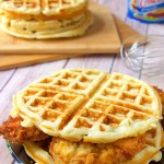 Chicken and Waffle Sandwich