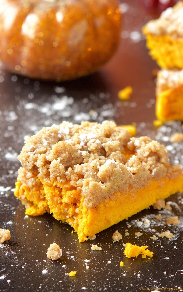 Pumpkin Crumble With Cake Mix
