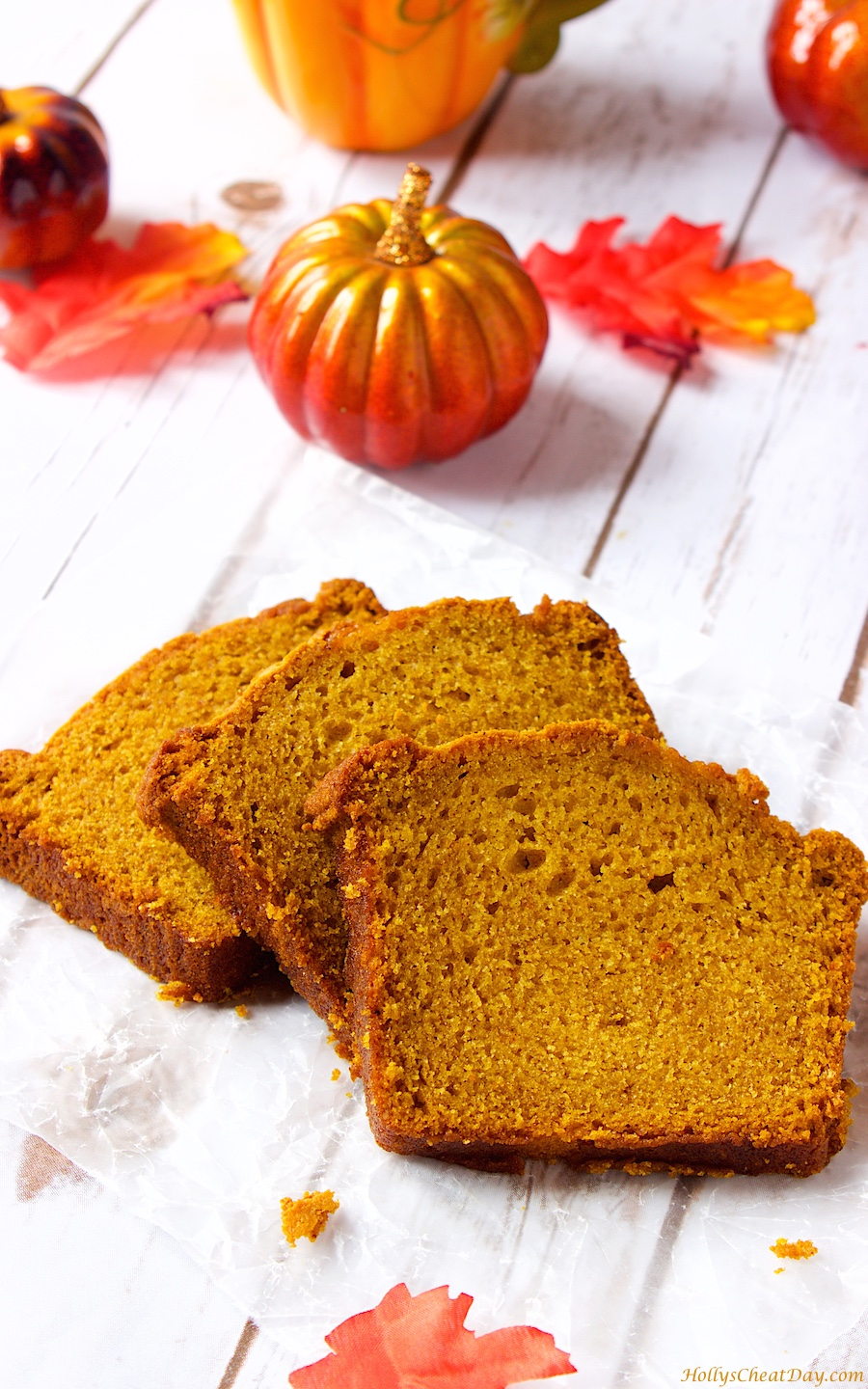 Pumpkin Gingerbread - HOLLY'S CHEAT DAY