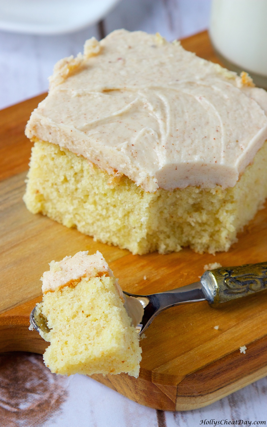 Light And Fluffy Butter Cake Recipe