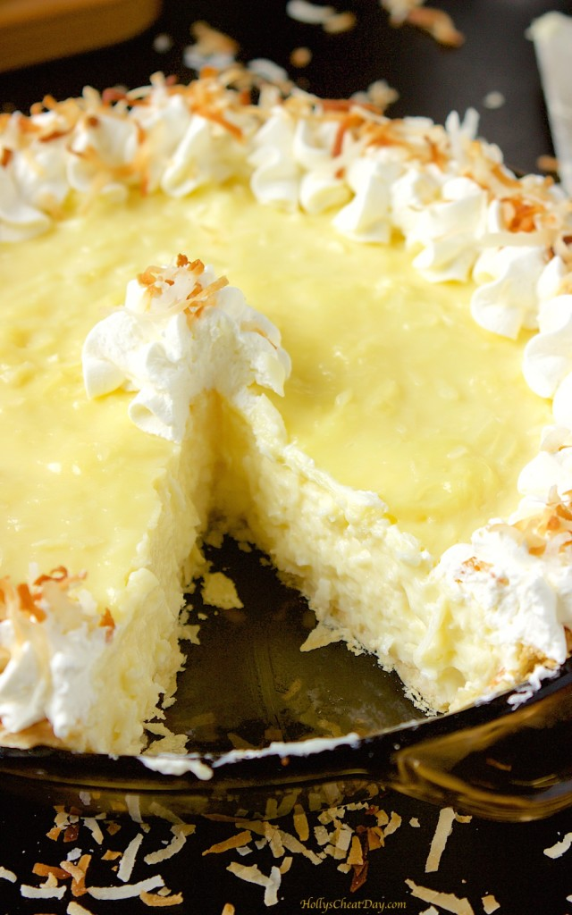 coconut-cream-pie| HollysCheatDay.com