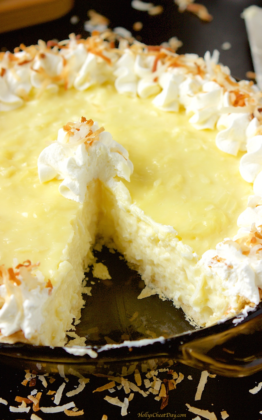 Homemade Coconut Cream Pie - Don't Sweat The Recipe Old fashioned coconut cream pie from scratch