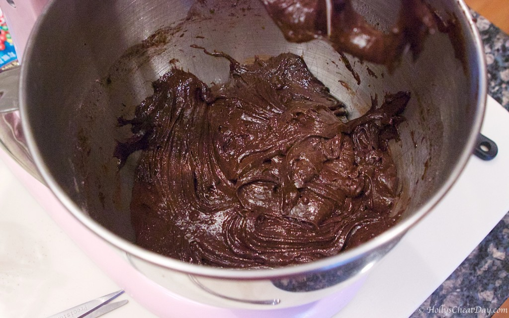 chocolate-cake-mix-cookie-bars | HollysCheatDay.com