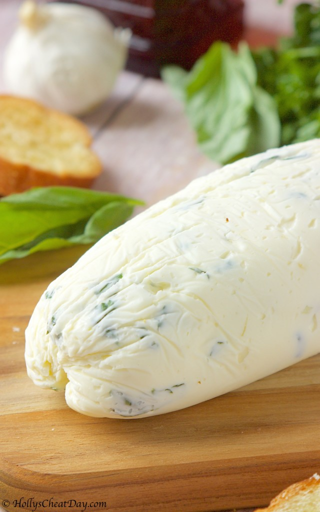 how-to-series-garlic-herb-butter| HollysCheatDay.com