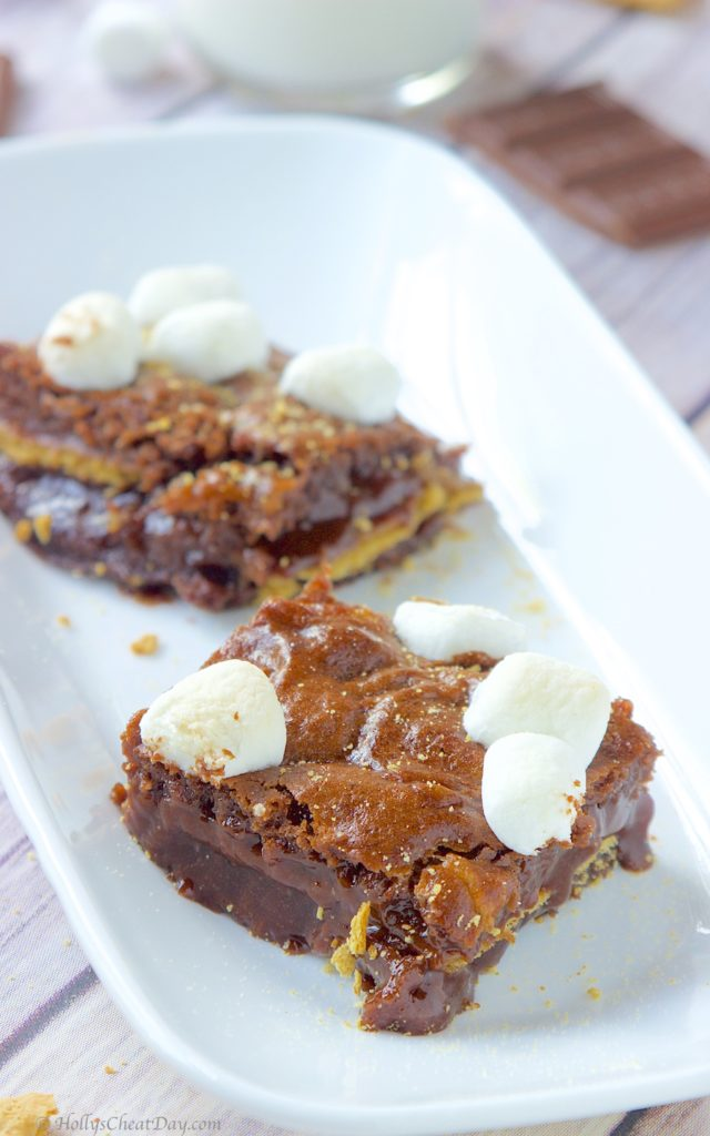 s'mores-bars | HollysCheatDay.com