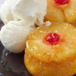 Mini Upside Down Pineapple Cakes