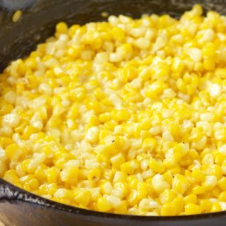 southern-skillet-fried-corn| HollysCheatDay.com