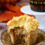 Spice Cupcakes with Pumpkin Cream Cheese Frosting