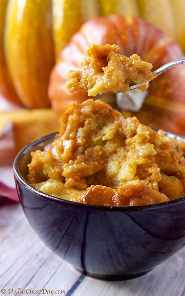 crockpot-pumpkin-bread-pudding | hollyscheatday-com