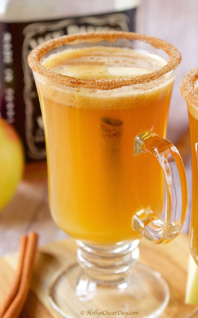 Hot-Buttered-Whisky-Cider | HollysCheatDay.com