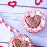 REPOST–Sweetheart Strawberry Cupcakes
