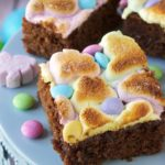 Easy Caramel Marshmallow Brownies